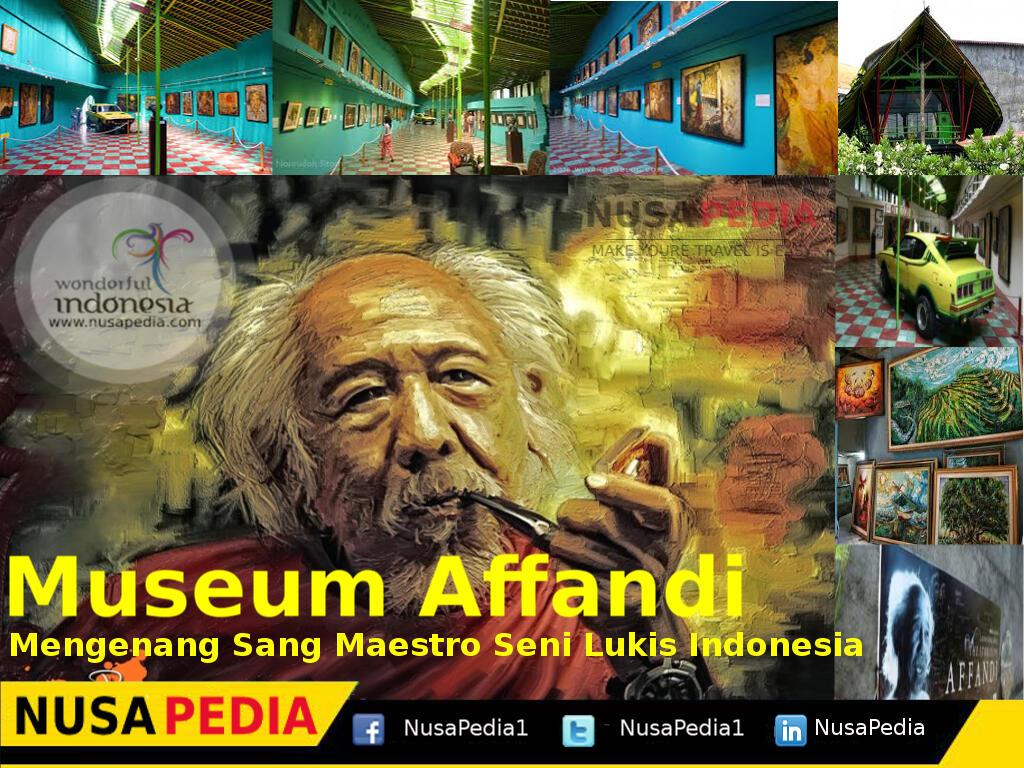 Museum Affandi : Mengenang Sang Maestro Seni Lukis Indonesia