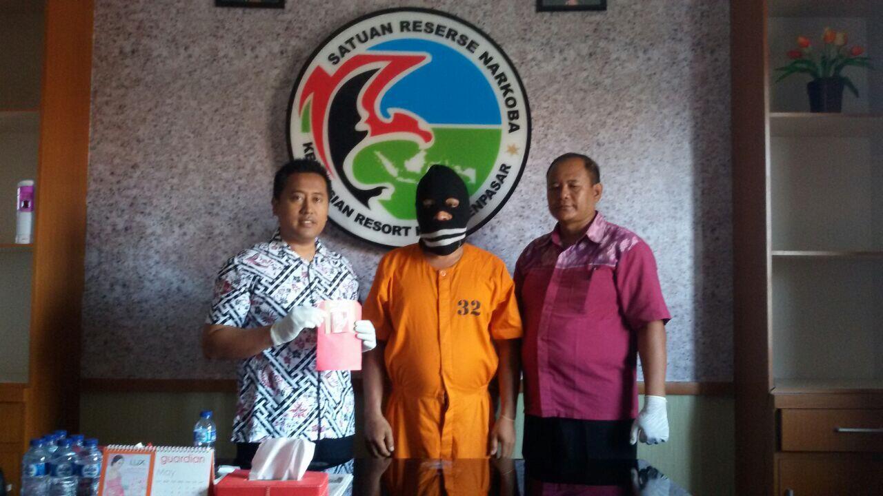 Polresta Denpasar Tangkap 4 Pengguna Narkoba dari 3 Kasus Berbeda