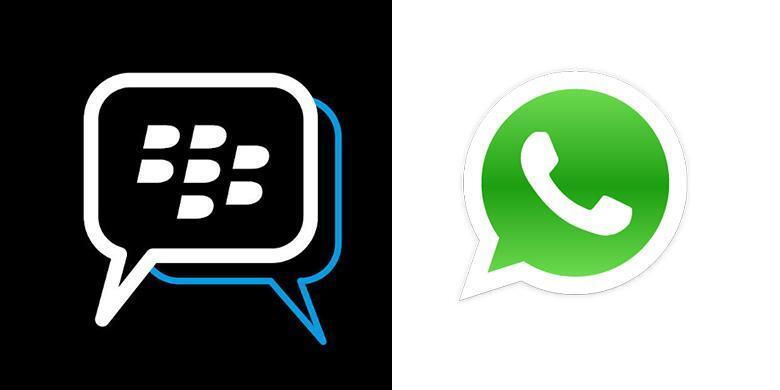 Whats'App Telah Mengalahkan Kejayaan BlackBerry Messenger