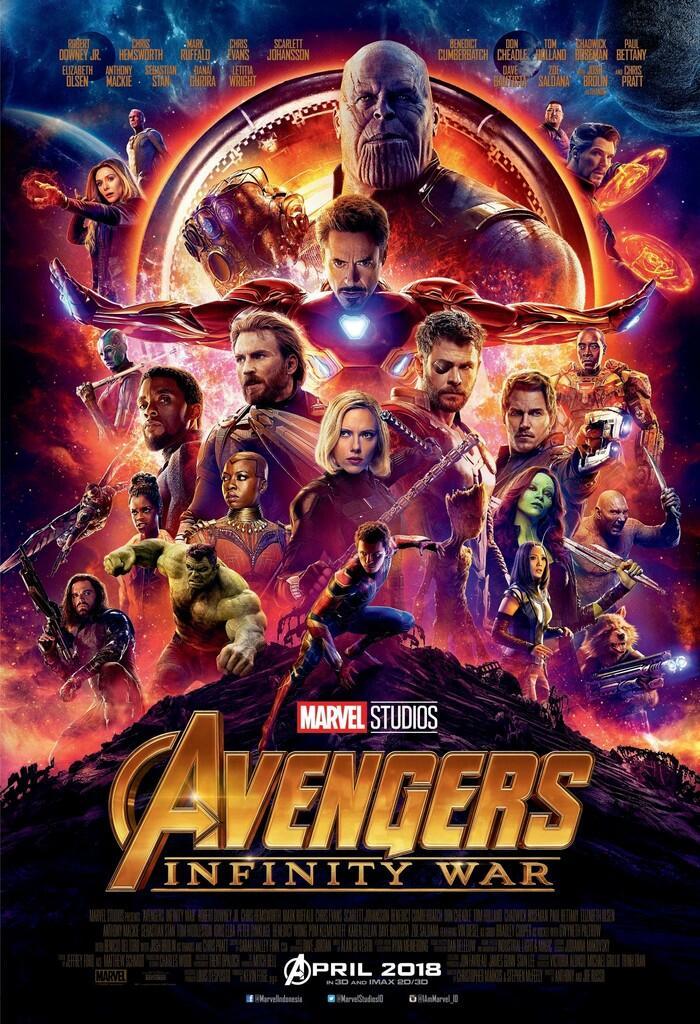Saatnya Menghadapi Thanos di Marvel Studios' Avengers: Infinity War!