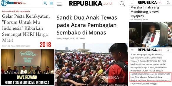 """Terbongkar Twit Lama Dave Revano, Ketua Pesta Rakyat """"Maut"""" di Monas"""