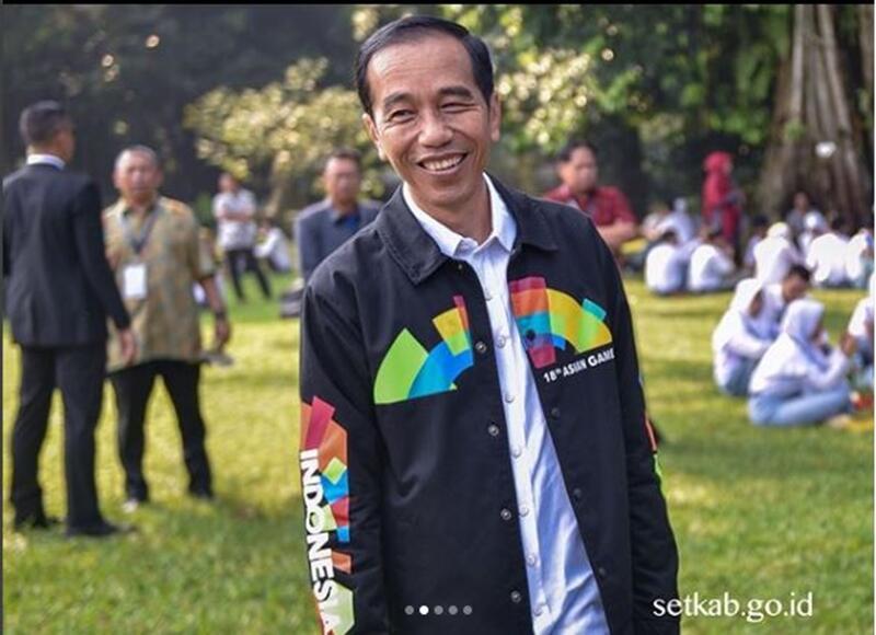 5 Fakta di balik jaket Asian Games Jokowi yang bikin heboh warganet