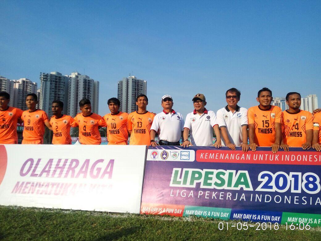 Final Liga Pekerja, Flashmob dan Marching Band Ramaikan Hari Buruh