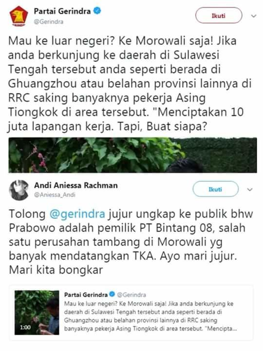 Viral Isu PT Bintang 08 Pekerjakan TKA, Fadli Zon: Itu Fitnah!