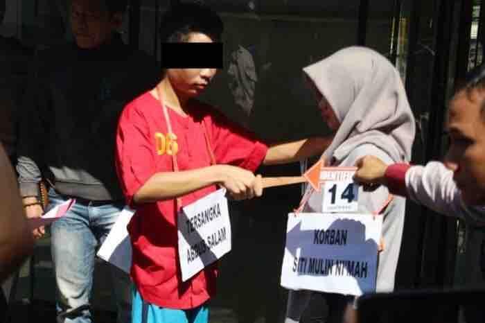 26 Adegan Pembunuhan Terapis Salon di Banjarbaru