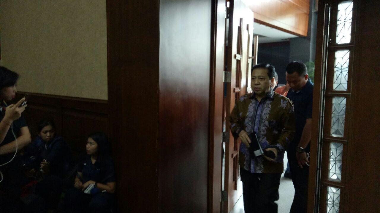 Setya Novanto Dieksekusi ke Lapas Sukamiskin Bandung