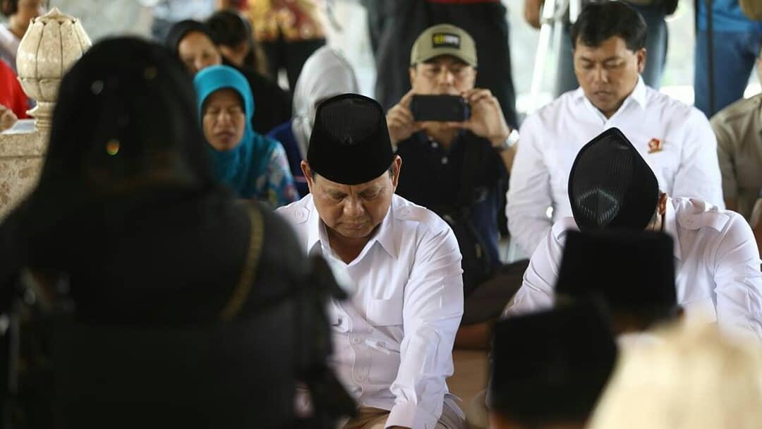 Safari Politik di Jatim, Prabowo Didampingi Rachmawati Soekarnoputri