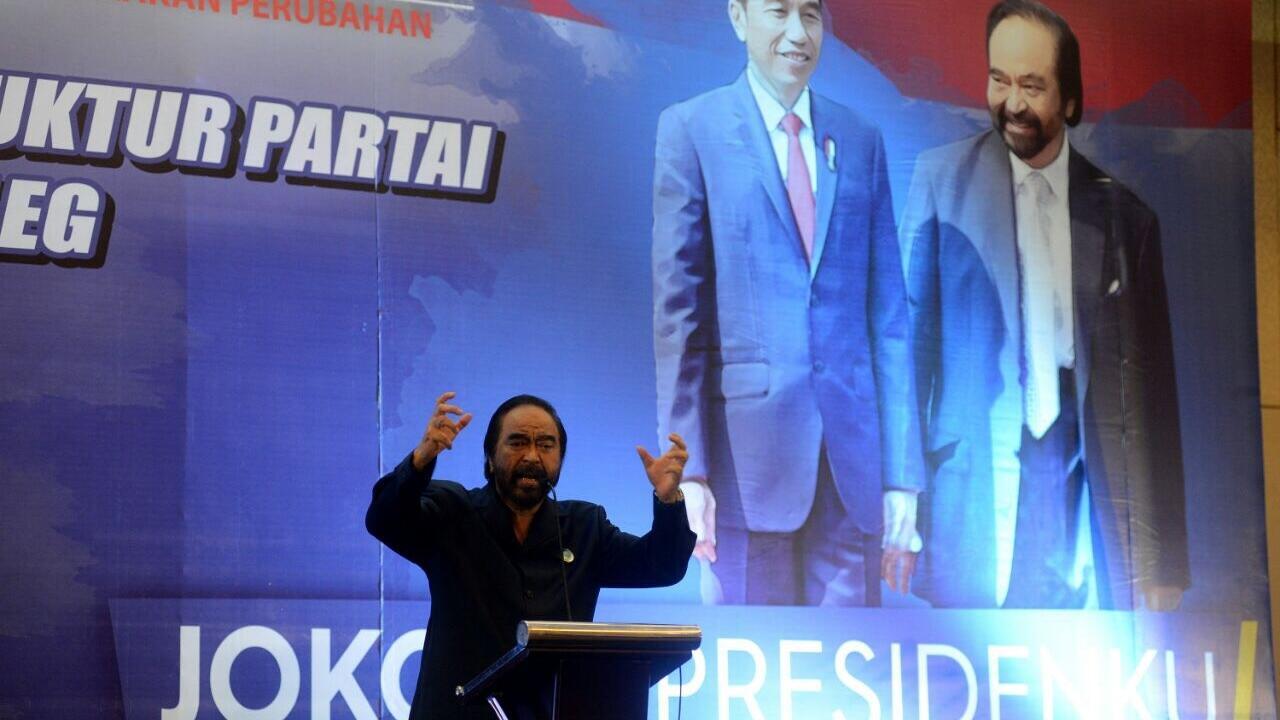 Surya Paloh Minta Aparat Pro Aktif Tindak Kegiatan Politik di CFD