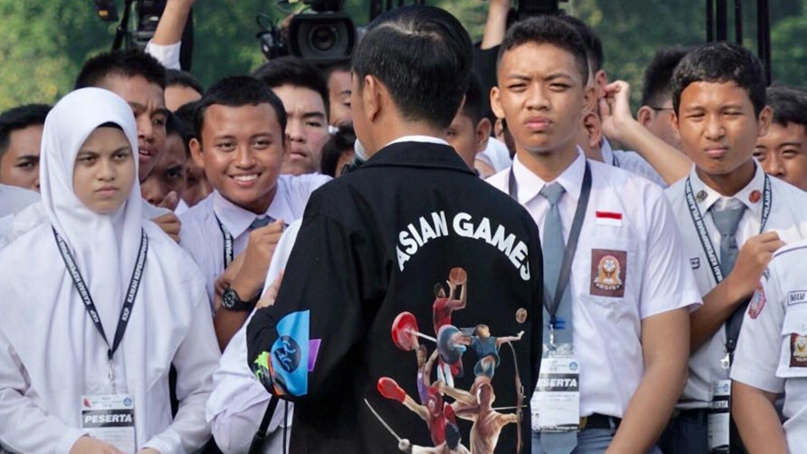 Ikuti Jokowi, Menteri Kabinet Kerja Akan Bikin Jaket Asian Games