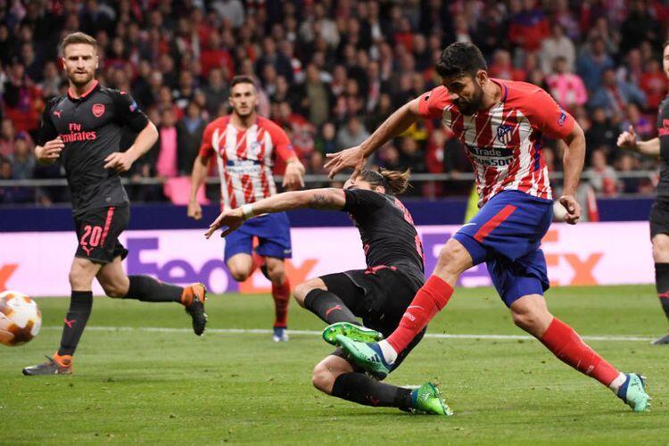 Goal Diego Costa Memastikan Arsenal Nol Gelar Musim Ini