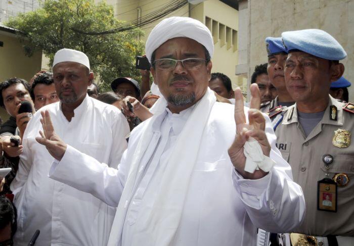 Kasus Sukmawati lanjut meski status tersangka Rizieq dibatalkan