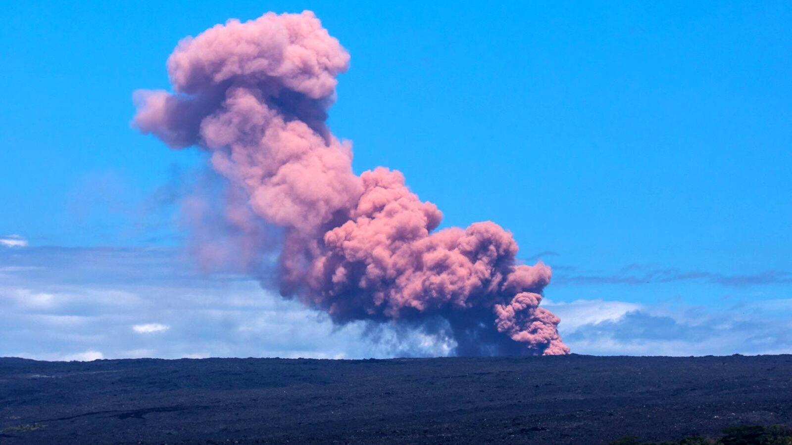 Gas Beracun Intai Warga Hawai di Tengah Erupsi Gunung Kilauea