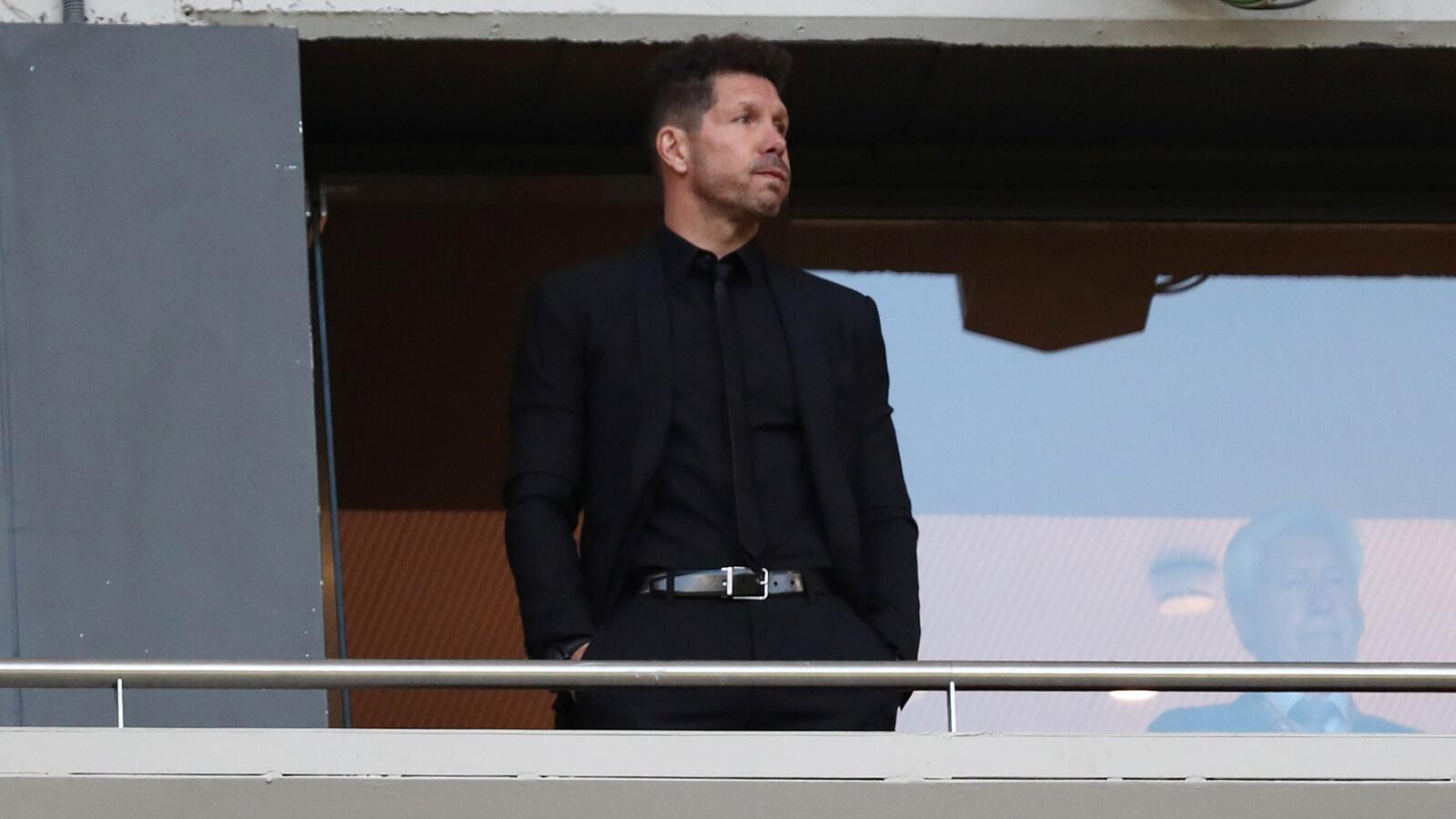 Atletico Dipastikan Tanpa Simeone di Final Liga Europa