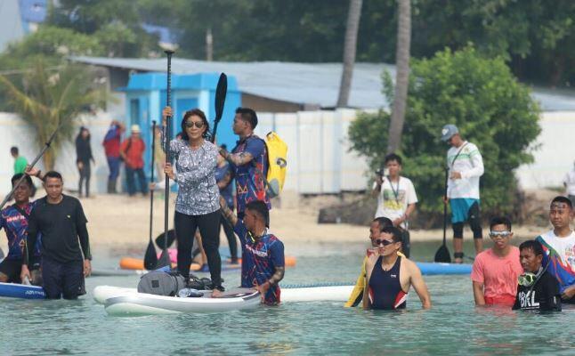 Aksi Menteri Susi di Pulau Tidung yang Pukau Perhatian