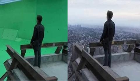 Luar Biasa ??? 10 Foto Pembuatan Film Barat Yang Hasil Nya Luar Biasa !!!