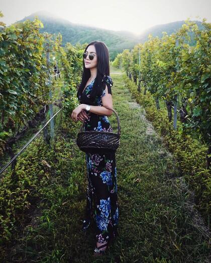 Ini Pang Ployvarin, Sosialita Cantik Anak Bos Perusahaan Wine