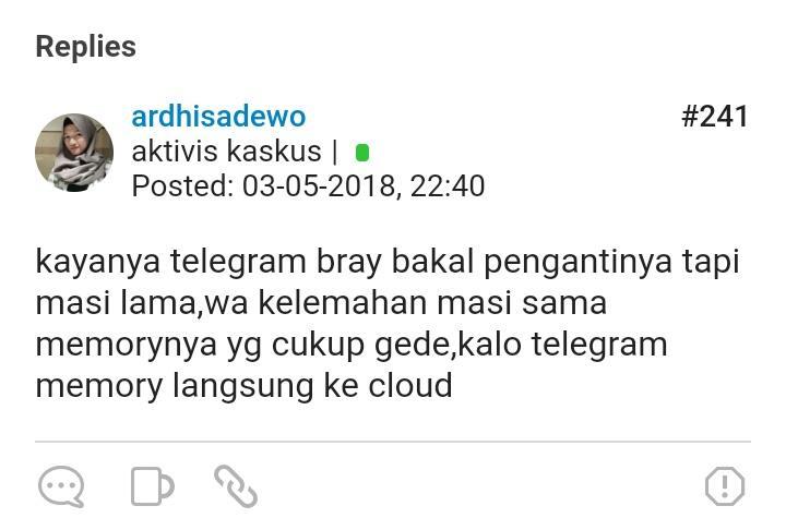Ini Buktinya, Jika Telegram Bakal Kalahkan WhatsApp (Menurut kaskuser)