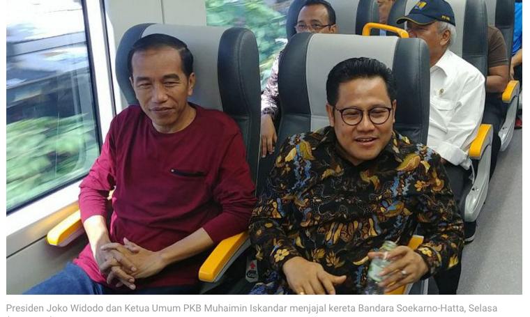 Cak Imin: Kalau Bukan Saya Cawapresnya, Jokowi Bisa Kalah
