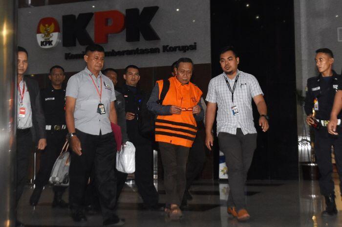 Kiprah Amin Santono, anggota DPR berakhir di tahanan KPK
