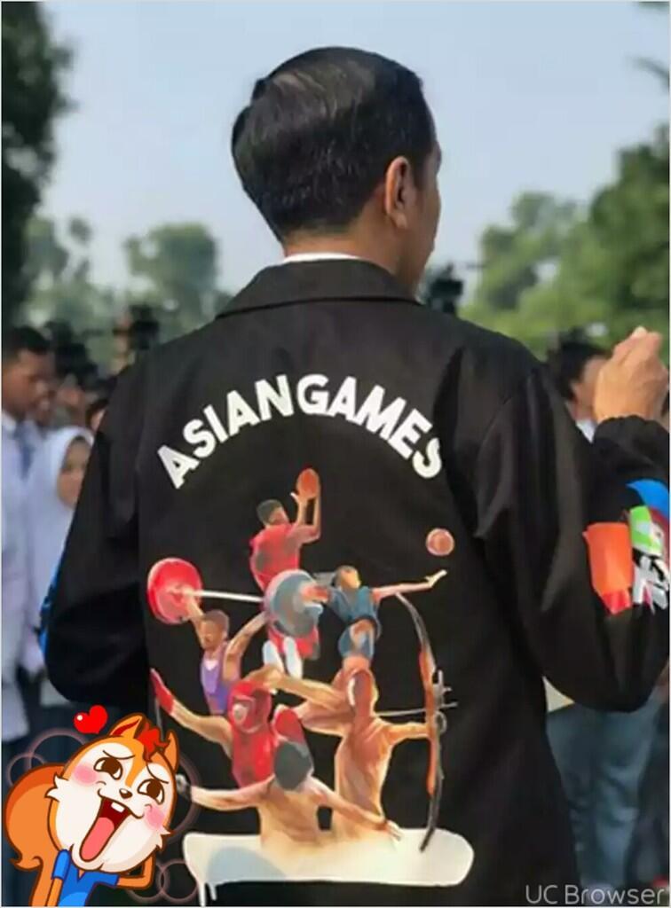Jaket Asian Games 2018 yang Dikenakan Jokowi Viral, Sandiaga Uno juga Ingin Pakai
