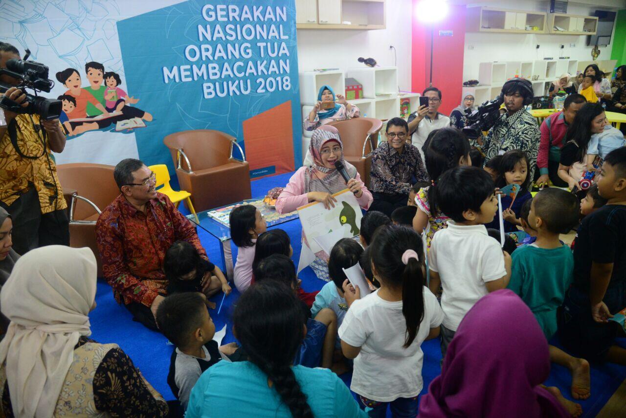 Gernas Baku 2018 demi Tumbuhkan Minat Baca Anak