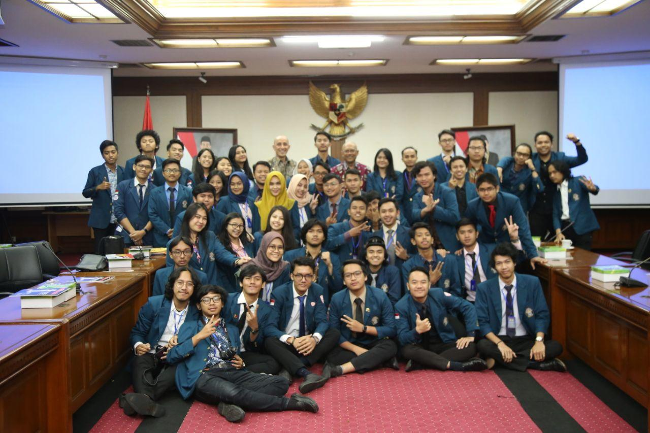 Pelajari Adminduk, BEM Fakultas Hukum Undip Kunjungi Kemendagri