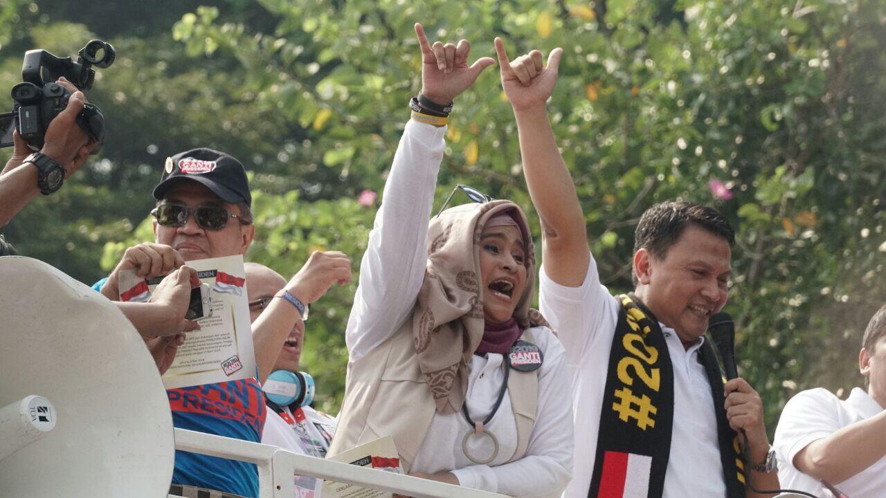 Aksi Deklarasi #2019GantiPresiden Habiskan Biaya Rp 40 Juta