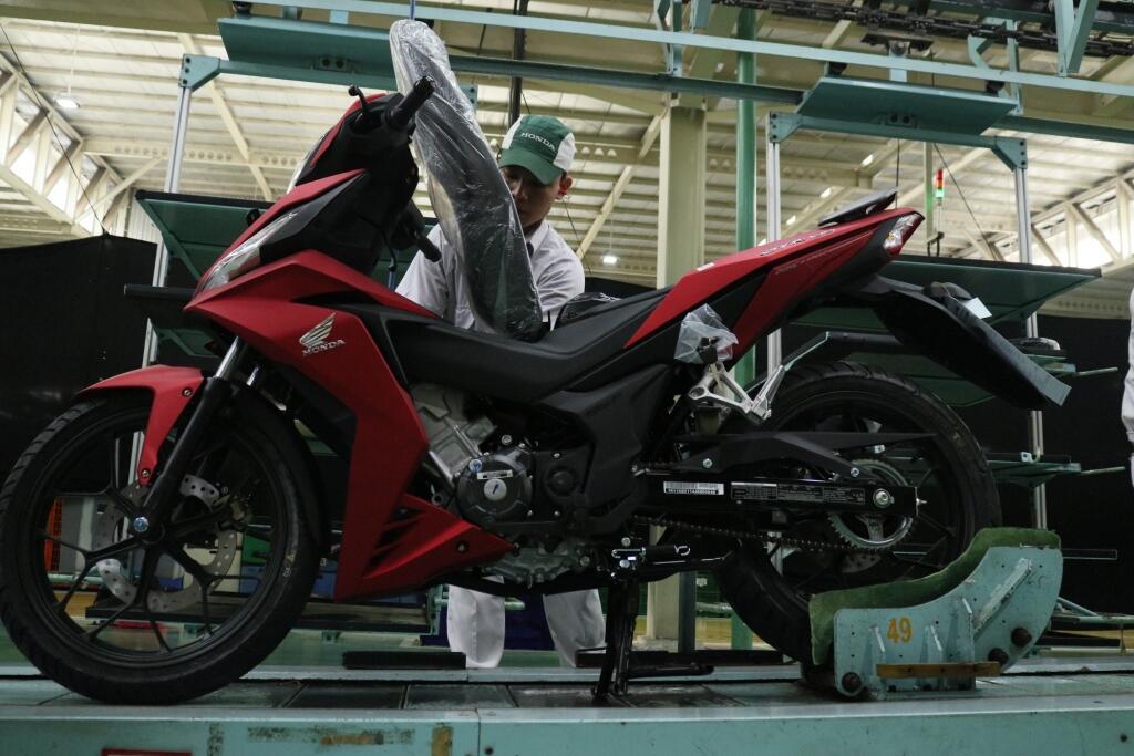 Giliran Supra GTR150 Dapat Seragam Baru dari Honda