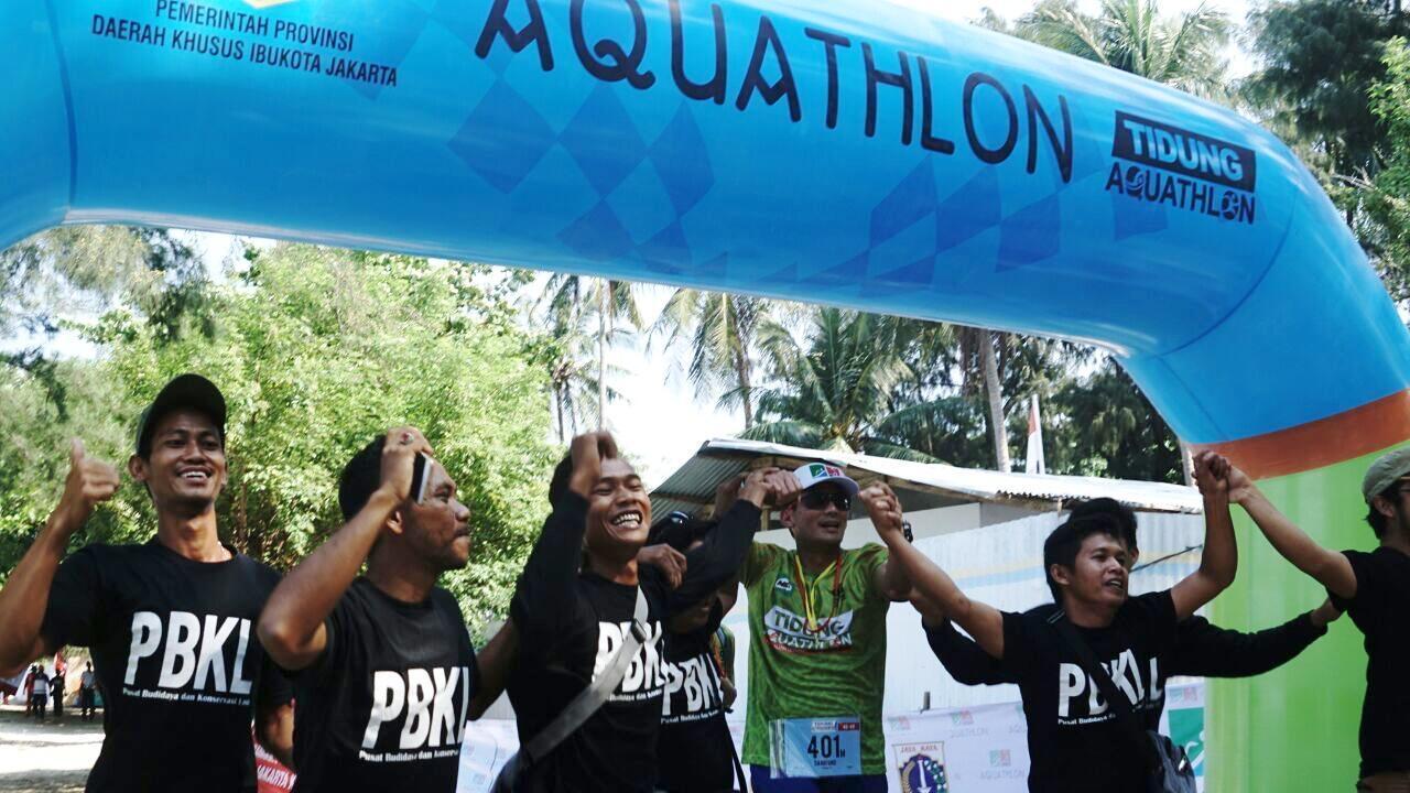 Misi Rahasia Sandiaga Uno di Balik Tidung Aquathlon