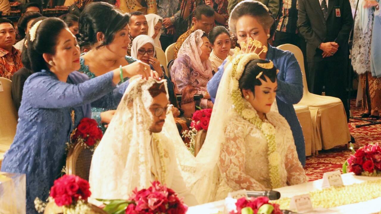 JK hingga Gatot Hadiri Pernikahan Cucu Soeharto di Hotel Kempinski