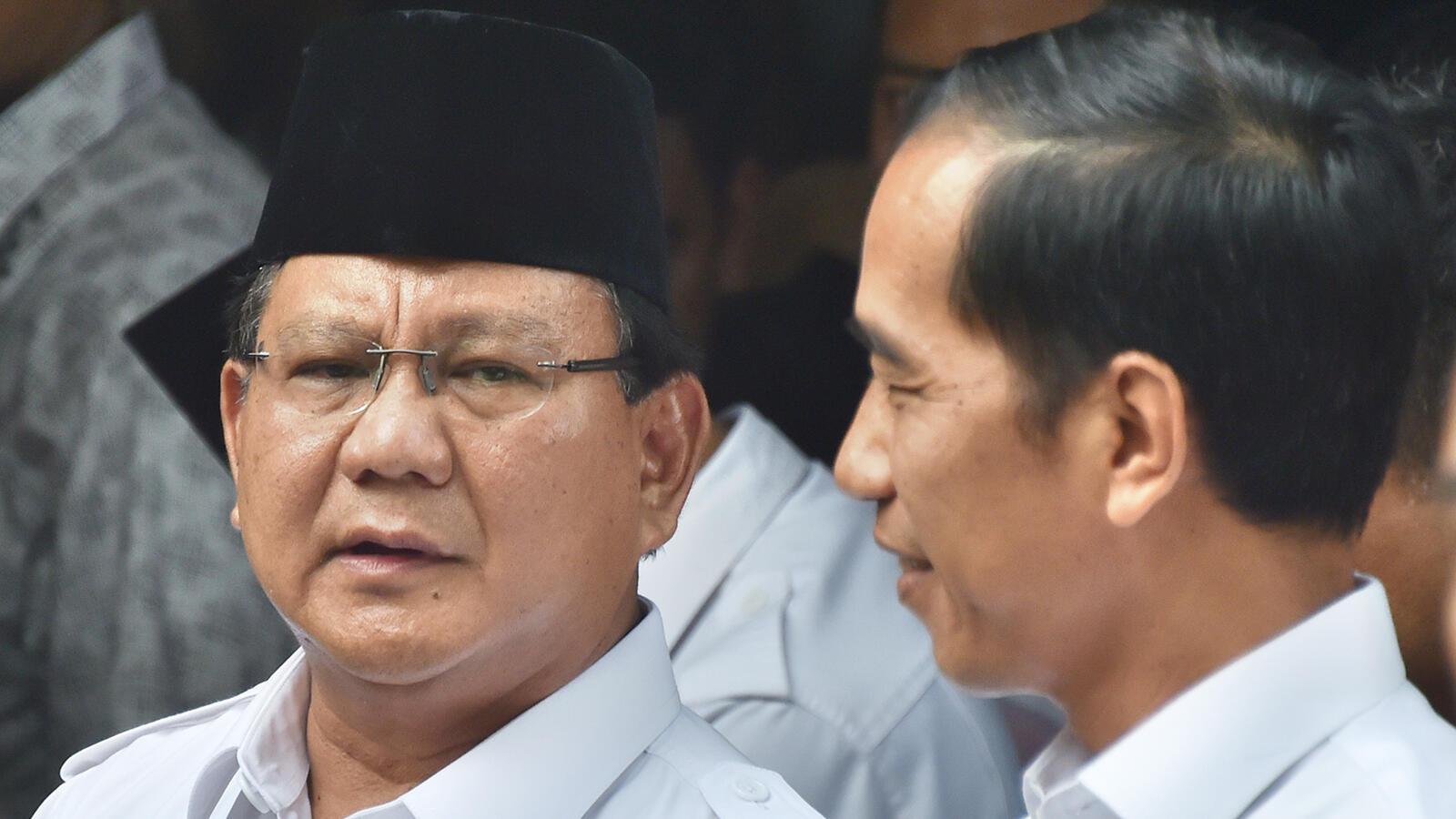 Lembaga INES Bikin Survei: Prabowo 50,20%, Jokowi 27,70%