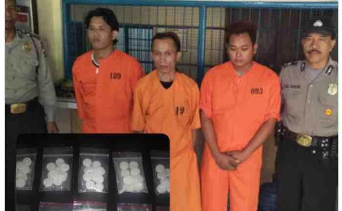 Sindikat Pengedar Pil Koplo di Denpasar Ditangkap