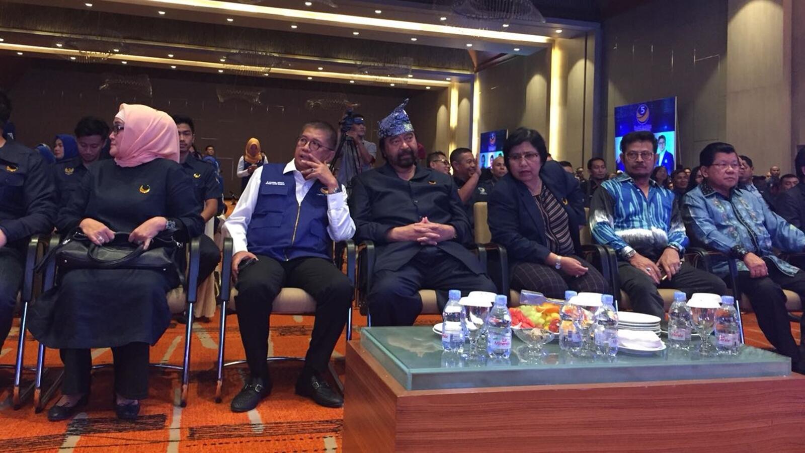 Surya Paloh Konsolidasikan Kader di Sumsel Hadapi Pemilu 2019