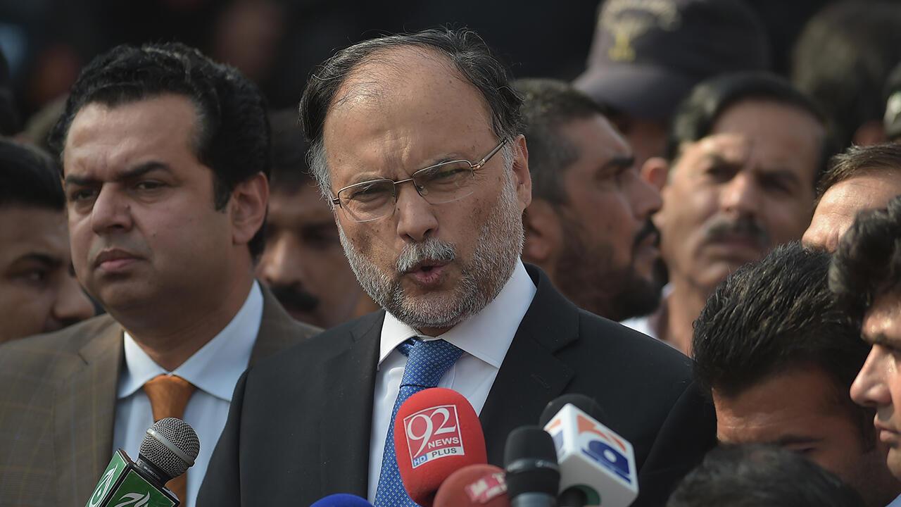 Menteri Dalam Negeri Pakistan Jadi Sasaran Percobaan Pembunuhan