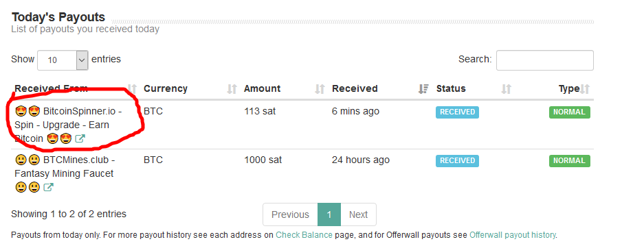 Ngumpulin Bitcoin Satoshi tinggal puter spinner doang