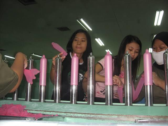 Proses Pembuatan Kondom Di Pabrik
