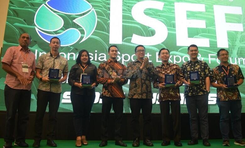 ISEF 2018 Jadi Ajang Bisnis Industri Olahraga, PSSI Gencar Lakukan Promo