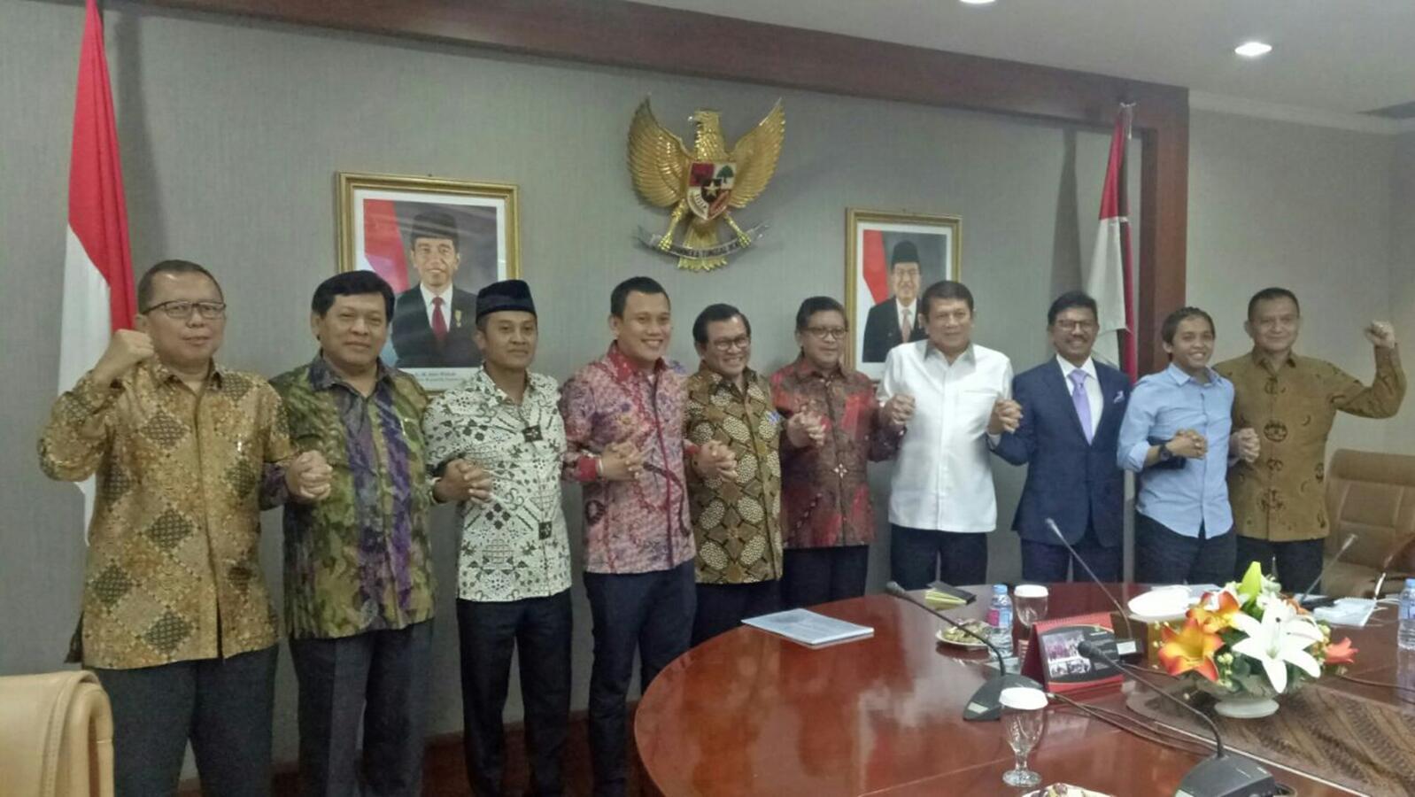 Seskab soal Bertemu Parpol Pendukung Jokowi: Persiapan Pileg-Pilpres