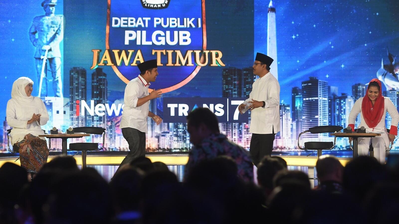 KPU Siapkan Format Baru Debat Kedua Pilgub Jatim Hari Selasa