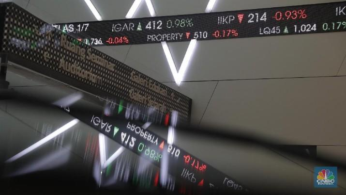 Dolar AS Rp 14.030, IHSG Anjlok 1,33%