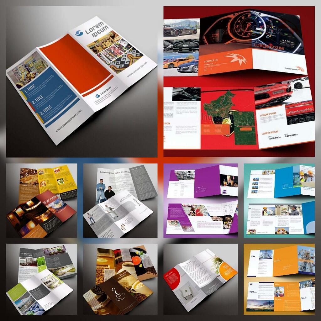 Desain-desain brosur ini bisa buat omset bisnis kita naik puluhan kali lipat