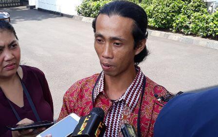 Berjalan Kaki 26 Hari Demi Mengadu ke Jokowi