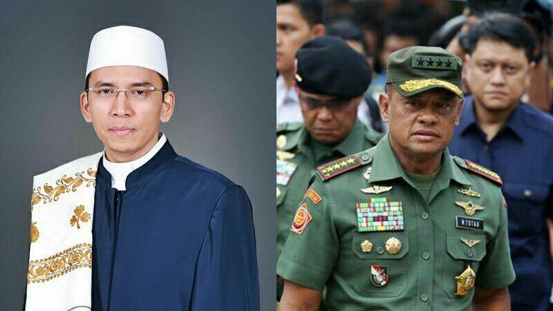 Ini Capres Kita, Sapaan Zulkifli Hasan ke Gatot Nurmantyo