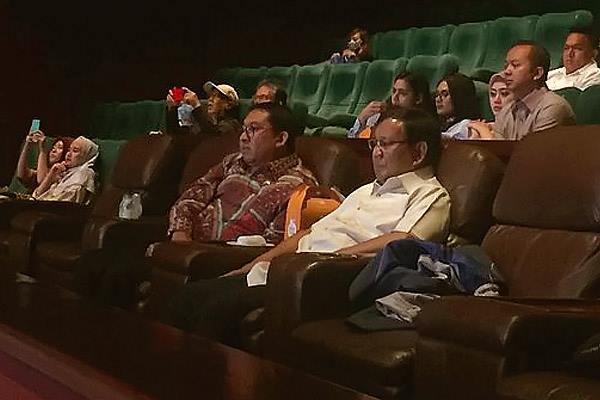 Prabowo Beri Nilai 9,9 Film 212 The Power of Love