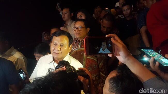 Prabowo soal '212 The Power of Love': Film Antikekerasan