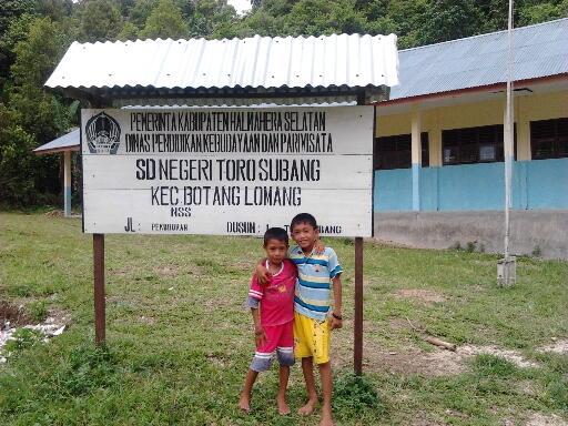 Mimpi dan Semangat di SDN Torosubang Halmahera Selatan