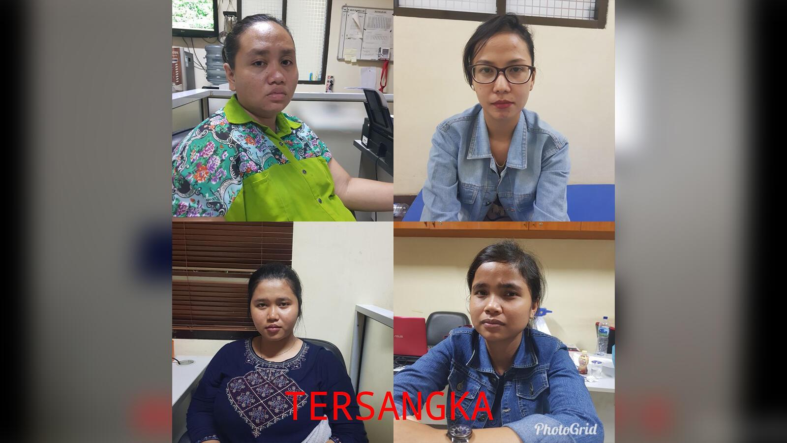 Polisi Ciduk 4 Wanita yang Jadi Agen Judi Online di Kepulauan Riau