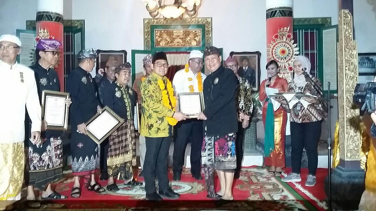 Penglingsir Puri di Bali Restui Cak Imin sebagai Cawapres Jokowi