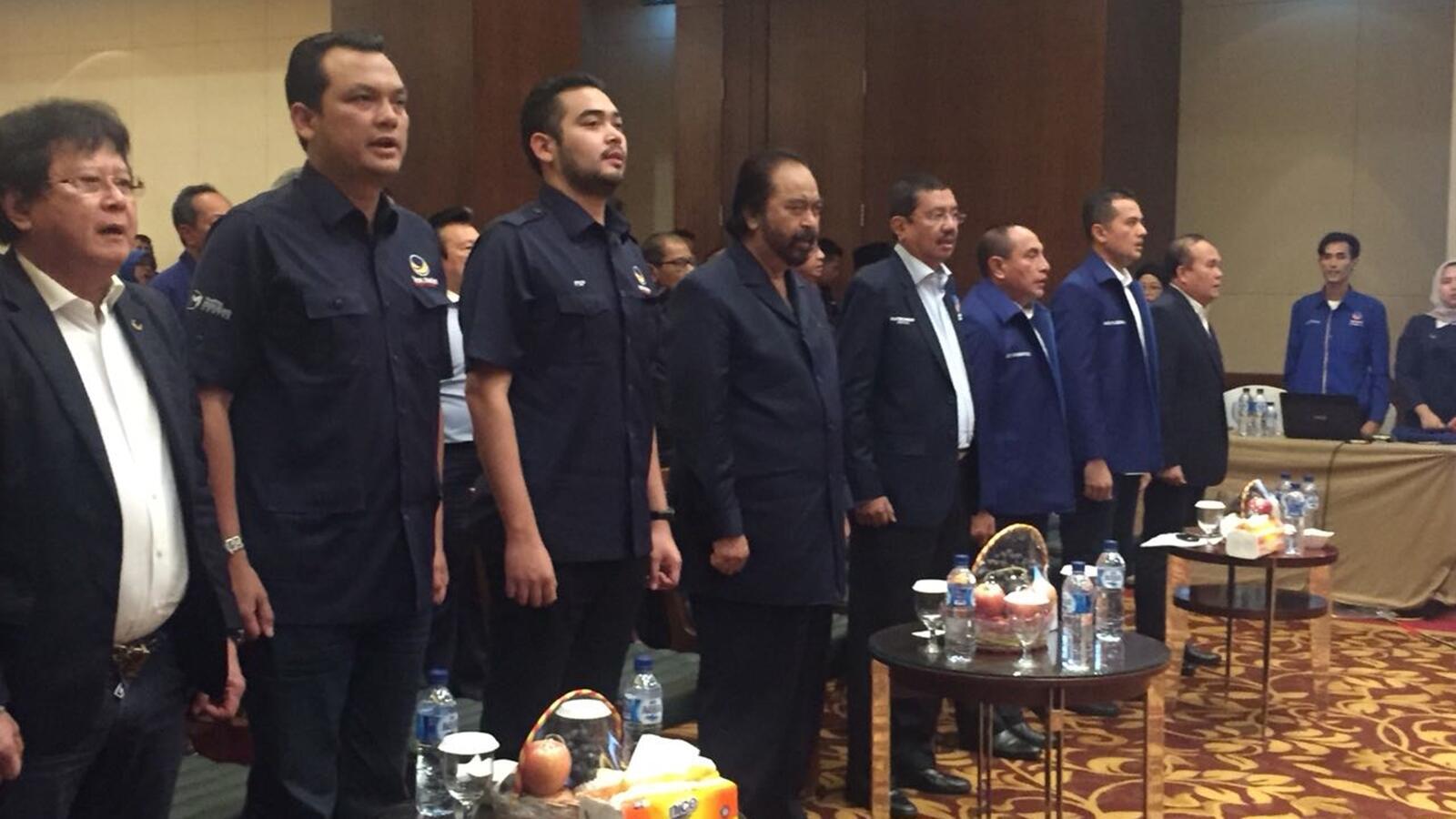 Surya Paloh hingga Edy Rahmayadi Hadiri Rakorwil NasDem di Medan