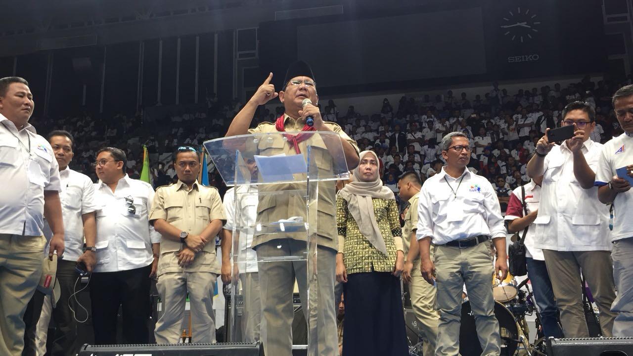 Prabowo, Fadli, hingga Syahrini Nonton Film '212 The Power of Love'